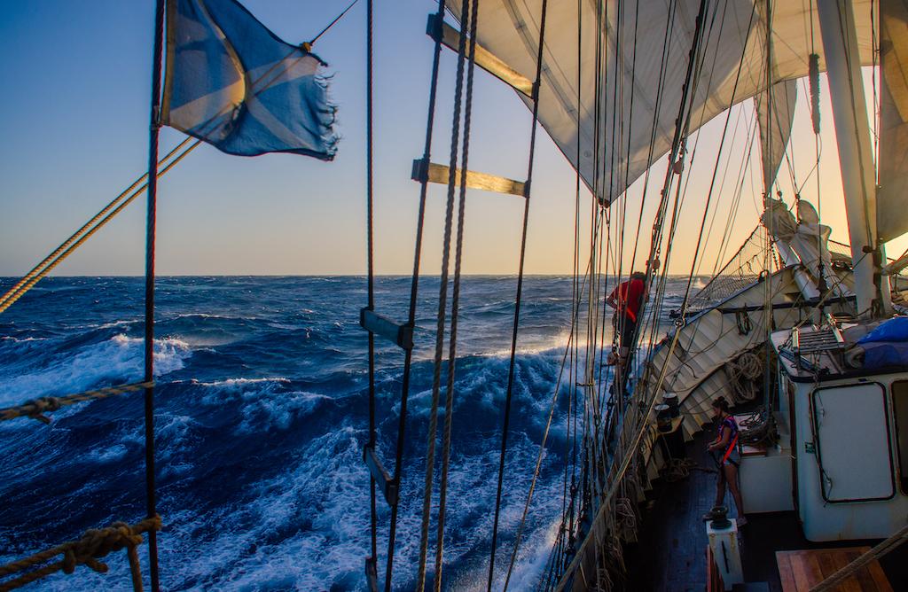 School at Sea: practical preparations